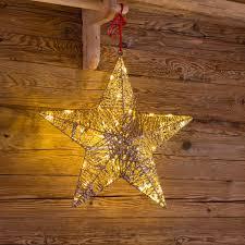 Weihnachtsstern Gold ø 50 Cm Warmweißes Licht