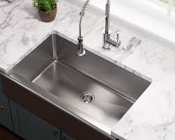 Farmhouse Style Sink Kitchen Apron Style Sinks Especially Stainless Steel Are Becoming A