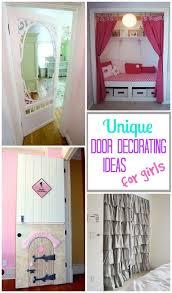 Room Door Decorations For Girls Teenage Girl Pinterest 10 Amazingly Cool Door Decorating Ideas For Girls Rooms Decorating Door Ideas Girls Diy Crafts Decor