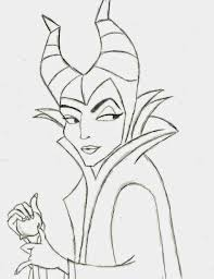 Disney Movie Princesses: Maleficent Free Printable Coloring Pages