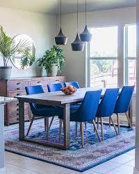 Blue Dining Room Furniture