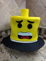 lego hat topper made entirely of felt my new best friend crazy rh com homemade crazy hats for easy crazy hat ideas