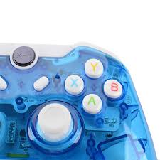 for xbox one controller pc for pc win 7 8 10 xbox one controler wireless bluetooth controller joystick transpa with led in gamepads from consumer