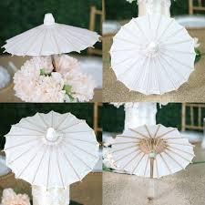 efavormart 32 paper parasol umbrella for diy wedding centerpieces arrangements com