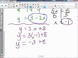 8th grade 3 8 solving systems of equations algebraically