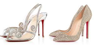 Glitter Bottom Shoes Designer Christian Louboutin Bridal Shoes Collection Youtube