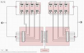 control home devices bluemix internet of things part  what we need to do is basically daisy chain all the ldquohotrdquo wires together between each set of 4 gang double gang outlets we do this so we don t overload a