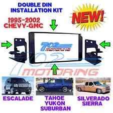 silverado double din dash parts 1995 2002 gm full size truck suv double din car stereo installation dash kit