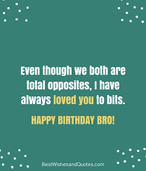 Best Wishes Quotes 50 Stunning Happy Birthday Brother 24 Unique Ways To Say Happy Birthday Bro