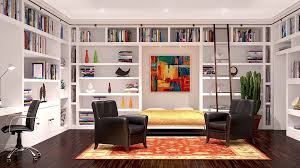 office and bedroom. interesting versatile murphy beds that turn any room into a spare bedroom with office design and