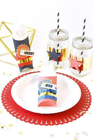Place Setting Template Fascinating Patriotic Place Setting How To Make A Placemat Decorating On Cut