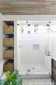 Beautiful Urban Farmhouse Master Bathroom Remodel. Master Shower TileWhite  ...