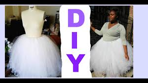 diy tulle skirt tutorial no sewing