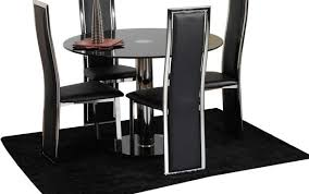 centerpiece black century set glass style table sets modern tables decor mid farmhouse marvellous and kitchen