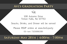 graduation invitation 4x6 avi s graduation party