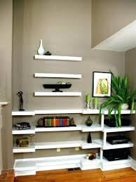 Shallow Floating Wall Shelves Shallow Shelves On Wall Frames Bookshelves In Wall Interior By 2