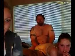 Dad watching daughter fuck