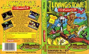 Presume Livingstone Supongo / Livingstone... I Presume? (Opera Soft 1986 ...