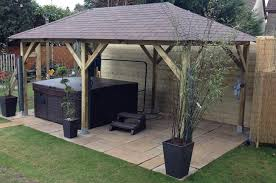 hot tub canopy in weybridge surrey