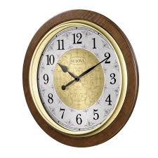 wall clock with harmonic chimes c4115