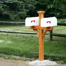 mailbox post plans. Beautiful Mailbox 4x4 Mailbox Post Plans Attractive Dual Outdoor Home Design  Styling White And Mailbox Post Plans U