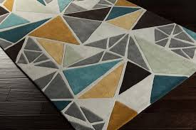 teal and grey area rug. Surya Cosmopolitan COS 9199 Grey Gold Teal Area Rug In And Gray Designs 5