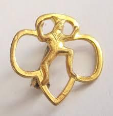 Girl scout pin vintage