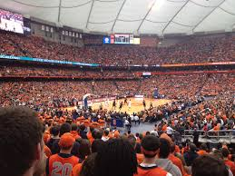 Syracuse Football Dome Seating Chart Carrier Dome Wikipedia