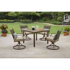 Small Picture Better Homes and Gardens Lynnhaven Park 5 Piece Outdoor Dining Set