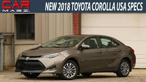 2018 Toyota Corolla USA Review and Specs - YouTube