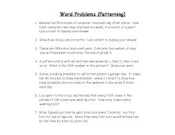 Grade Math Word Problems on math problems worksheets for 6th ...