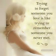 Trying To Forget Someone You Love Quote Pictures Photos And Images Fascinating Trying Quotes
