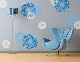 wall decals blue wall stickers