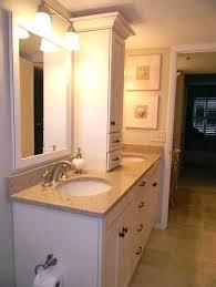 bamboo bathroom vanity. Bathroom Vanity Storage Tower Medium Size Of Bamboo Cabinets U