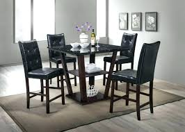 pub table and 4 chairs gray rustic sets tables wash target n