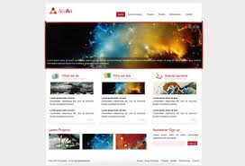 Free Html Website Templates Extraordinary Free Template For Website Design In Html