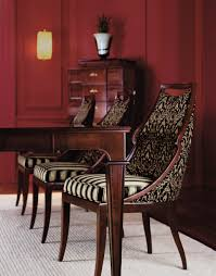 red wood dining chairs. Baker Furniture. Awesome Chairs. Red Wood Dining Chairs