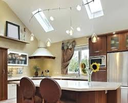 kitchen track lighting ideas. Kitchen Track Lighting Ideas For Vaulted Ceilings Ceiling U Design C