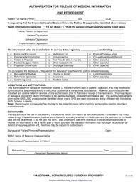 release of medical information template 40 medical records release form release of information
