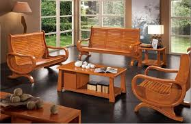Modern Wooden Living Room Furniture Beautifully Wooden Living Room