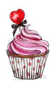 vintage cupcakes drawing. Simple Cupcakes Pink Cupcake  Made With Strawberries Raspberries And Love D Intended Vintage Cupcakes Drawing P