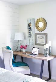 small space office desk. 4 home office updates peep these bloggersu0027 tips spacesoffice deskshome small space desk s