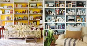 decorating with bookshelves drew