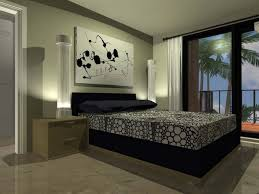 Art Ideas For Bedroom Wall With Marble Tile Floor And White Curtain Ideas.  Home U203a Bedroom U203a How To Paint A ...
