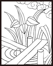 レク素材 花札5月菖蒲に八橋介護レク広場レク素材やレクネタ