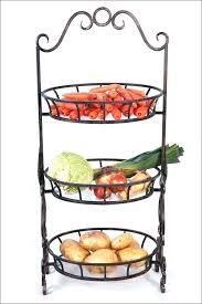 2 tier fruit basket stand baskets kitchen corner storage bowls inside designs
