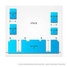 Tulsa Pac Seating Chart August Osage County Tulsa Tickets 2 16 2020 2 00 Pm