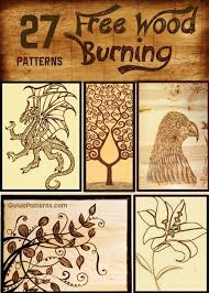 Wood Burning Art Patterns