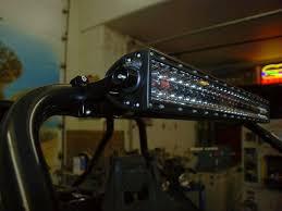 Utv Light Bar Utv Led Lightbar Mounts Utv Review Com Rigid Led Light Bar