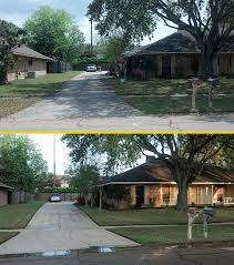 pressure washing baton rouge. Contemporary Rouge Prime Pressure Washing And Painting Drive Before After Example  For Pressure Washing Baton Rouge R